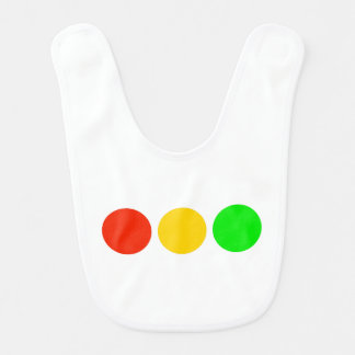 Horizontal Stoplight Colors Bibs