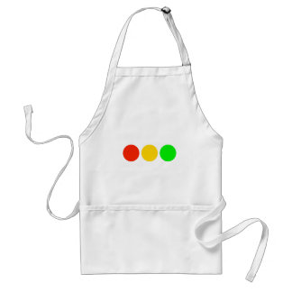 Horizontal Stoplight Colors Standard Apron