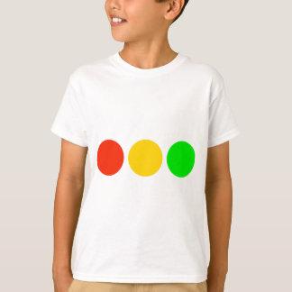 Horizontal Stoplight Colors T-Shirt