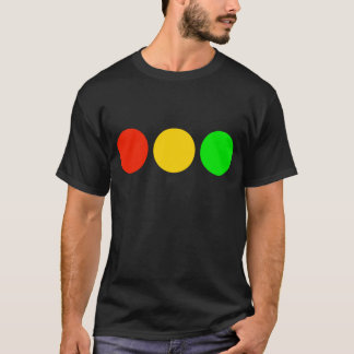 Horizontal Stoplight Colors T-Shirt