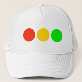 Horizontal Stoplight Colors Trucker Hat