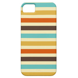 Horizontal Stripes Blue Yellow Red iPhone 5 Covers