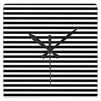 Horizontal Time Wall Clock