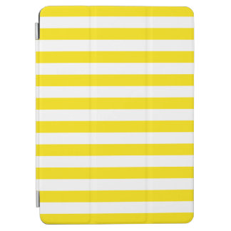 Horizontal Yellow Stripes iPad Air Cover