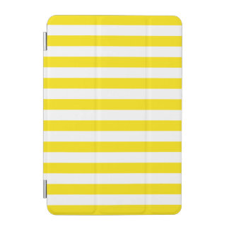 Horizontal Yellow Stripes iPad Mini Cover