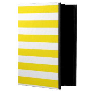 Horizontal Yellow Stripes Powis iPad Air 2 Case