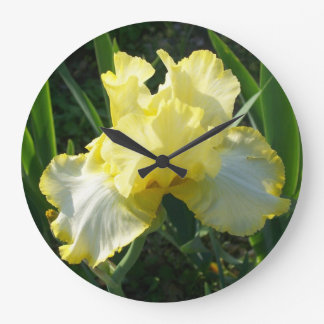 Horloge d iris jaune