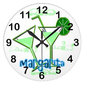 Horloge murale ronde de margarita