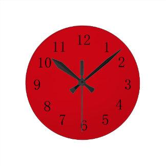 Horloges pendules murales for Horloge murale rouge cuisine