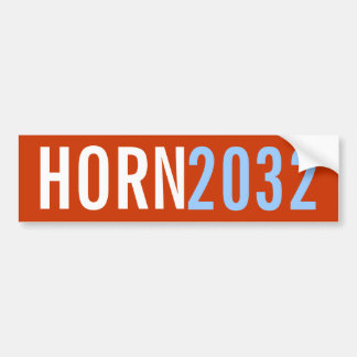 Horn 2032 bumper sticker