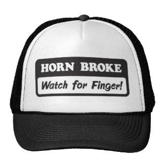 Horn Broke Trucker Hat