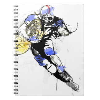horn football notebook