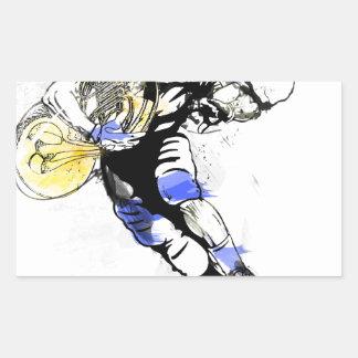 horn football sticker