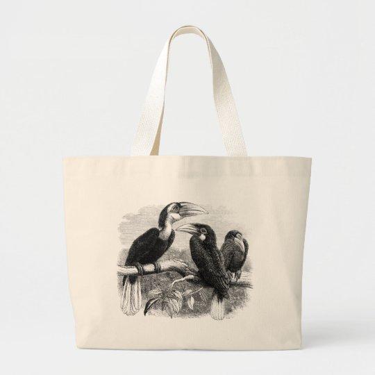 Hornbills Large Tote Bag