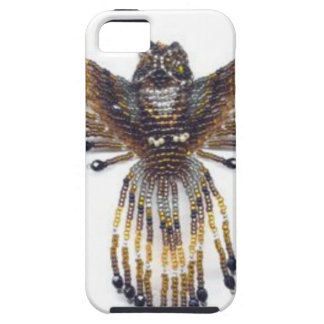 Horned beaded Owl Case For The iPhone 5