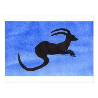 Horned Beast Postcard
