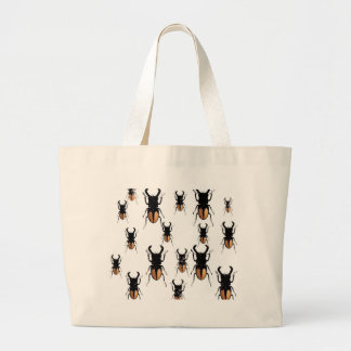 HORNED BEETLES COLLECTION LARGE TOTE BAG