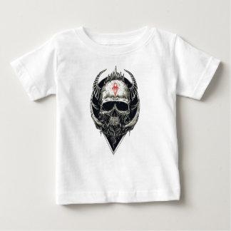 Horned Devil Skull Baby T-Shirt