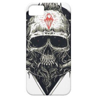Horned Devil Skull Case For The iPhone 5