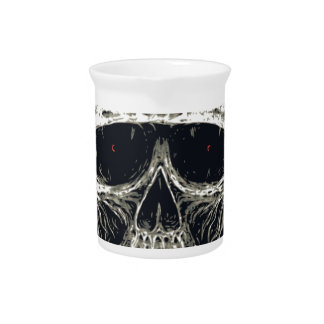 Horned Devil Skull Pitcher