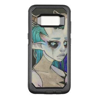 Horned Girl OtterBox Commuter Samsung Galaxy S8 Case