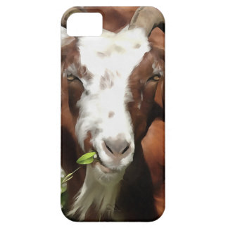 Horned Goat Grazing Case For The iPhone 5