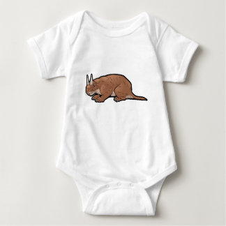 Horned Gopher Baby Bodysuit