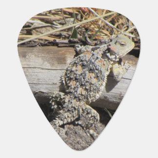 Horned Lizard Guitar Pick