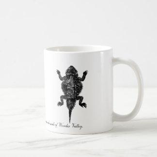 Horned Lizard in Wonder Valley Basic White Mug