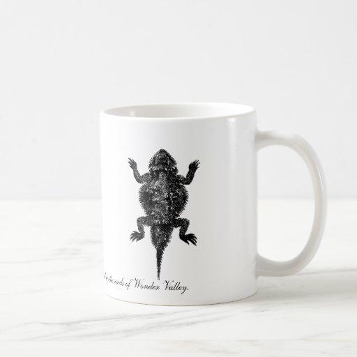 Horned Lizard in Wonder Valley Mug