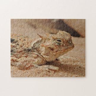 Horned lizard jigsaw puzzle