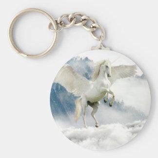 Horned Pegasus Keychain