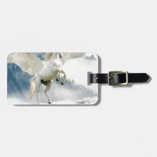 Horned Pegasus Luggage Tag