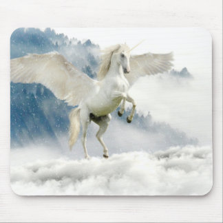 Horned Pegasus Mouse Pad