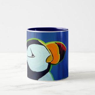 Horned Puffin mug