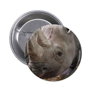 Horned Rhino  Pin