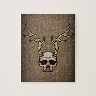 Horned Skull Puzzle