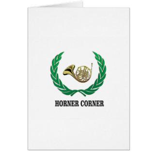 horner corner art card