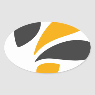 Hornet Oval Sticker