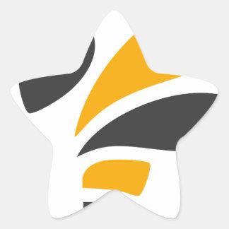 Hornet Star Sticker