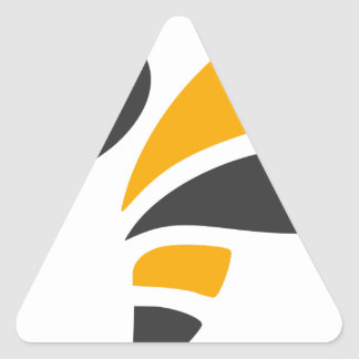 Hornet Triangle Sticker
