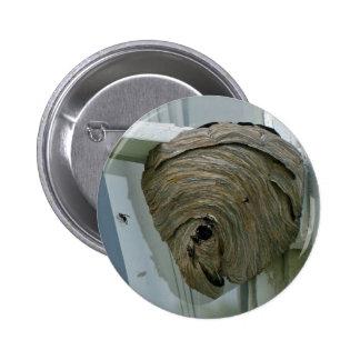 Hornets Nest 2 Inch Round Button