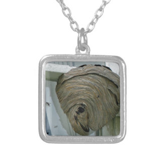 Hornets Nest Silver Plated Necklace