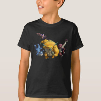 Horns CHARGE! Kids' Dark Shirt
