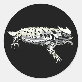 Horny Toad Round Sticker