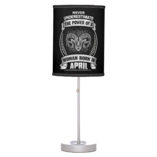 Horoscope April Table Lamp