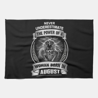 Horoscope August Kitchen Towel