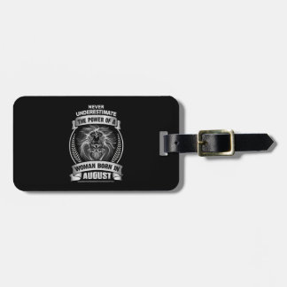 Horoscope August Luggage Tag