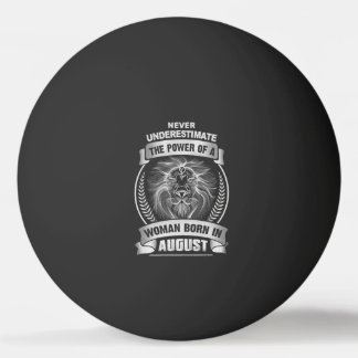 Horoscope August Ping Pong Ball
