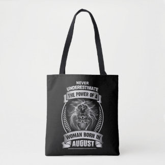 Horoscope August Tote Bag